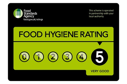 Food Safety: Display Food Hygiene Ratings by law?