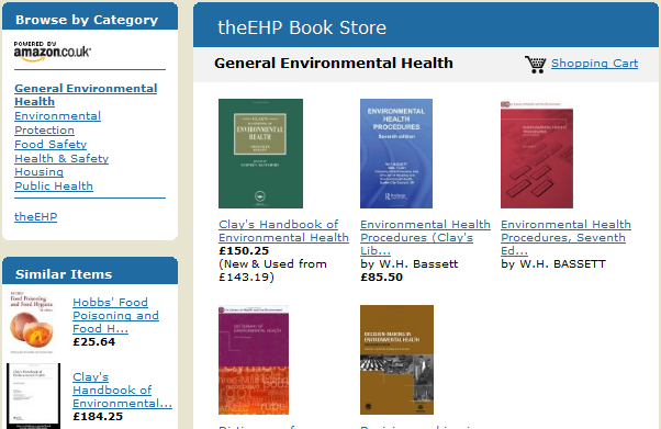 theEHP Book & Media Store