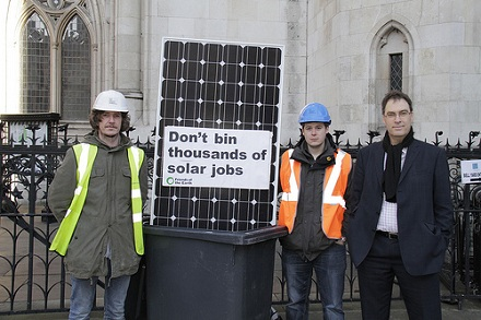 Sustainability: Government loses solar panel appeal