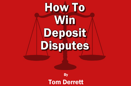 How to win deposit disputes – An essential guide for landlords