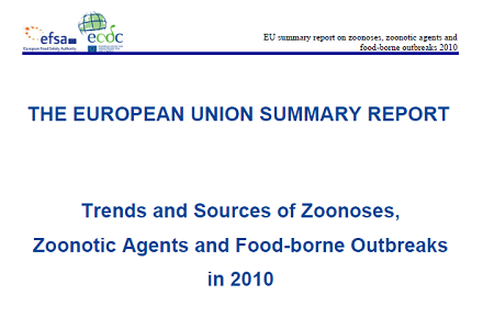 Food Safety: EFSA and ECDC zoonoses report released