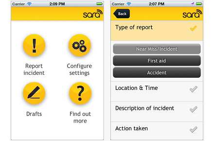 Simple Accident Reporting App Launched