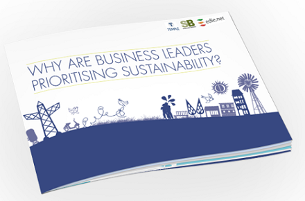 Sustainability: Business leaders are prioritising sustainability