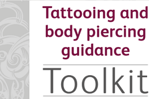 Public Health: New tattooing and body piercing guidance published
