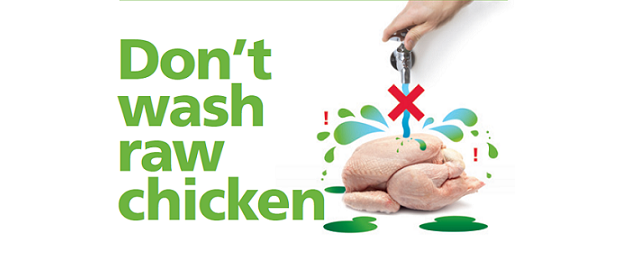 Food Safety: FSA – Don't Wash Raw Chicken