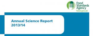FSA Annual Science Report 2013-14